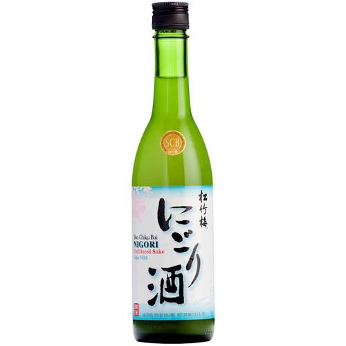 Sho Chiku Bai Junmai Nigori Sake 375ML US (Unfiltered Sake)