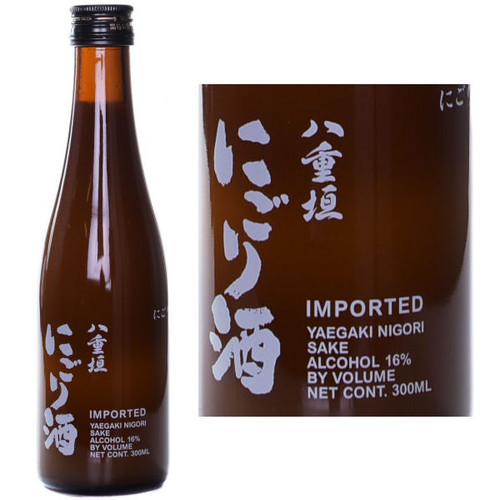 Yaegaki Unfiltered Nigori Samurai Sake 300ML