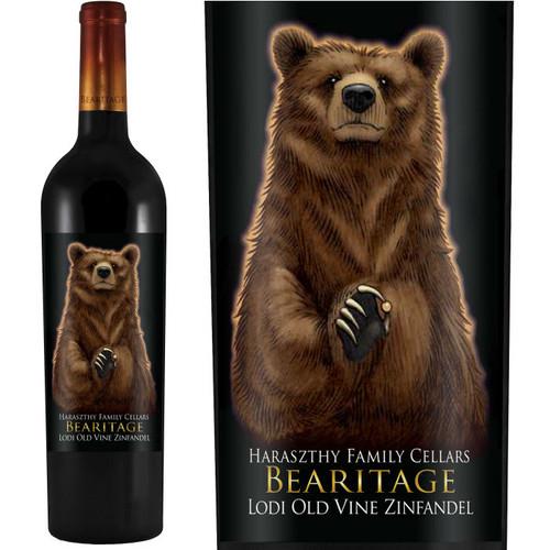 Bearitage by Haraszthy Lodi Old Vine Zinfandel