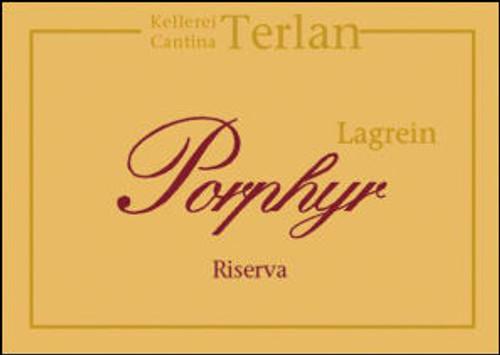 Terlano Porphyr Lagrein Riserva Alto Adige DOC