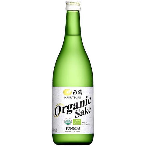 Hakutsuru Organic Junmai Sake 720ML