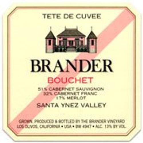 Brander Santa Ynez Bouchet, Tete de Cuvee