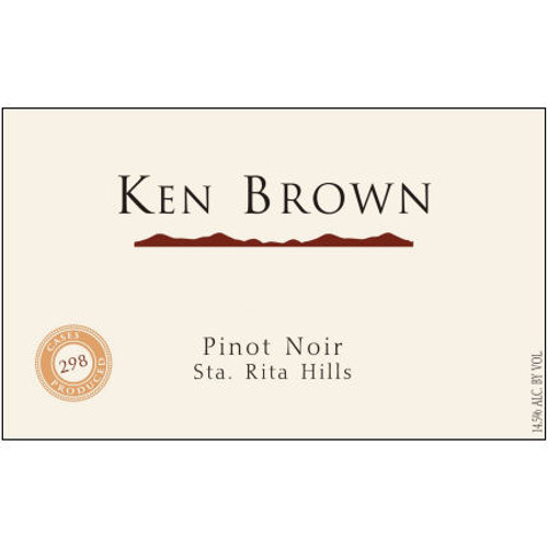 Ken Brown Sta. Rita Hills Pinot Noir