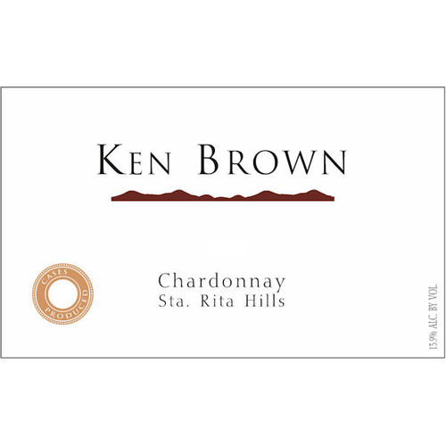 Ken Brown Sta. Rita Hills Chardonnay
