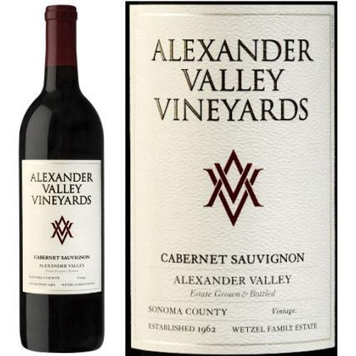 Alexander Valley Vineyards Wetzel Family Estate Alexander Cabernet
