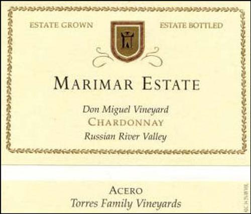 Marimar Estate Don Miguel Acero Chardonnay