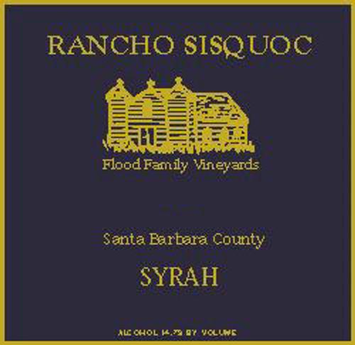Rancho Sisquoc Santa Barbara Syrah