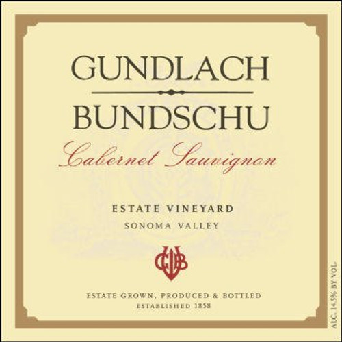 Gundlach Bundschu Sonoma Cabernet