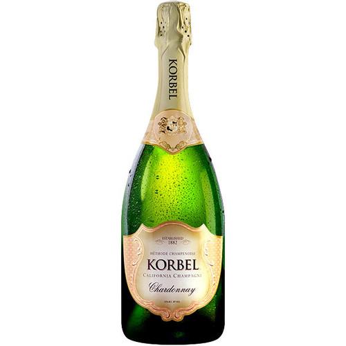 Korbel California Chardonnay Champagne NV