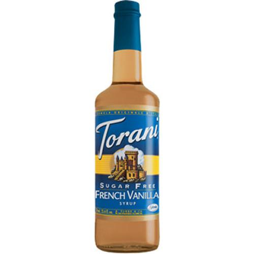 Torani Sugar Free French Vanilla Syrup 750ml