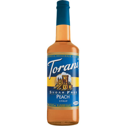 Torani Sugar Free Peach Syrup 750ml