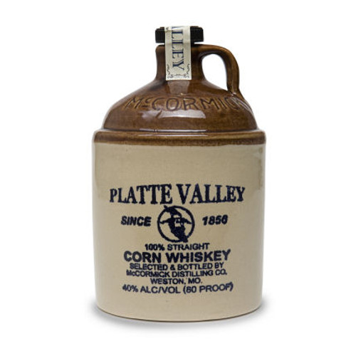 Platte Valley Moonshine Straight Corn Whiskey 750ml