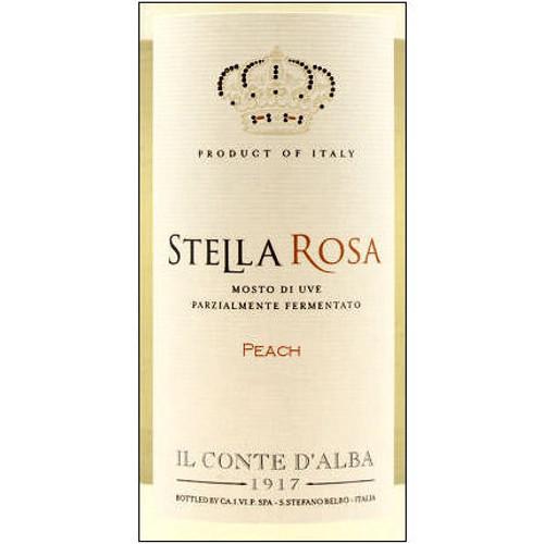 Il Conte d'Alba Stella Rosa Peach NV (Italy)