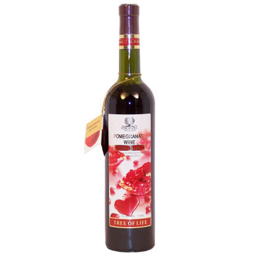 Tree of Life Semi-Sweet Pomegranate Armenian Wine NV