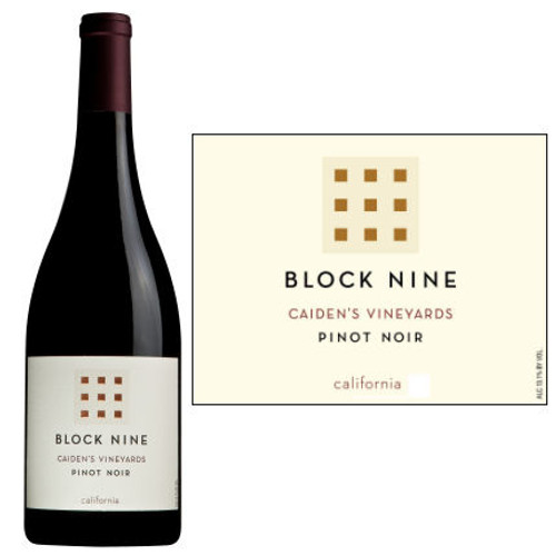 Block Nine Caiden's Vineyard California Pinot Noir
