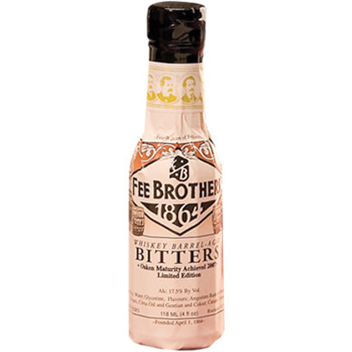 Fee Brothers Whiskey Barrel Aged Bitters 5oz.