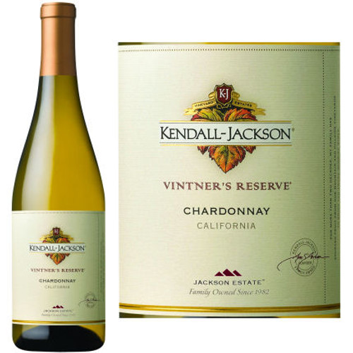 Kendall Jackson Vintner's Rserve Special Select California Chardonnay