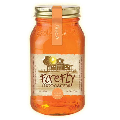 Firefly Peach Flavored Moonshine 750ml