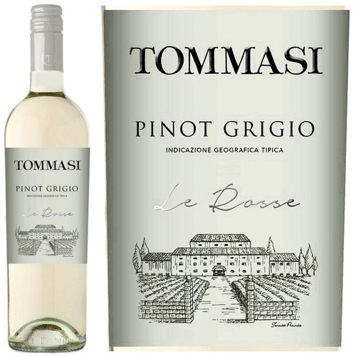 Tommasi Le Rosse Pinot Grigio IGT