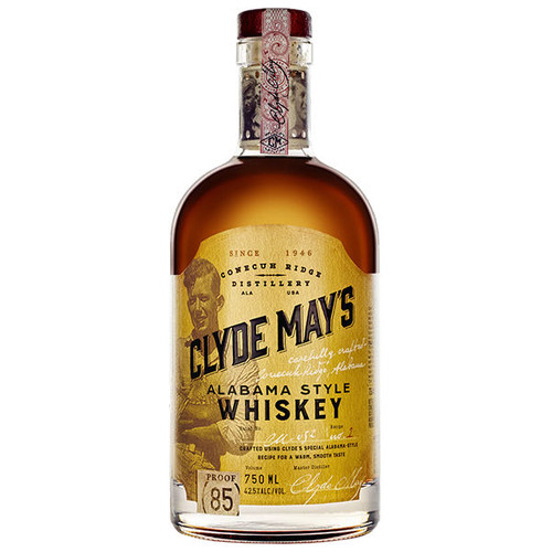 Clyde May's Alabama Style Whiskey 750ml