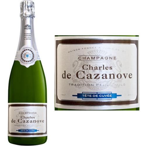 Charles de Cazanove Cuvee de Tete Brut Champagne NV