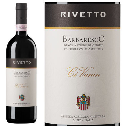 Rivetto Barbaresco Ce Vanin DOCG