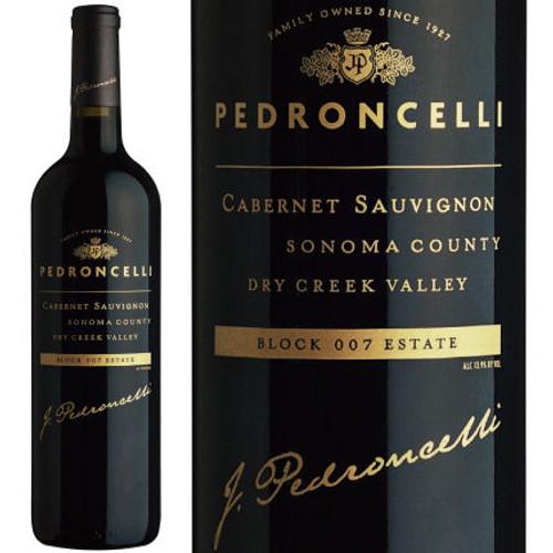 Pedroncelli Block 007 Vineyard Dry Creek Cabernet