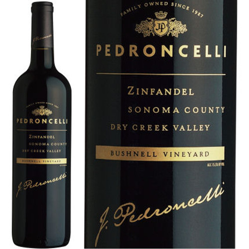 Pedroncelli Bushnell Vineyard Dry Creek Zinfandel
