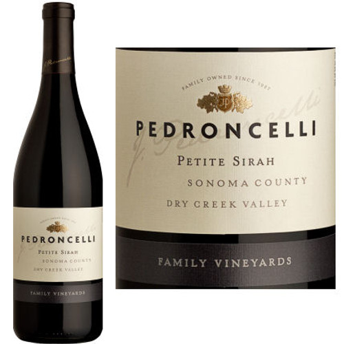 Pedroncelli Family Vineyards Dry Creek Petite Sirah