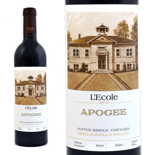 L'Ecole No. 41 Apogee Pepper Bridge Vineyard Walla Walla Red Blend