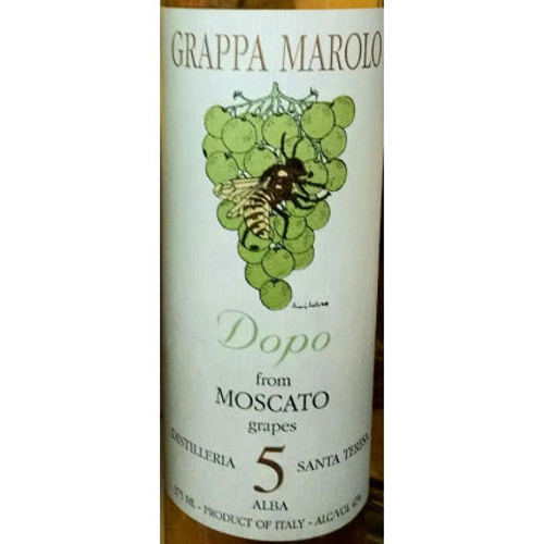 Marolo Grappa Moscato Dopo 5 Year Old Liqueur 375ml