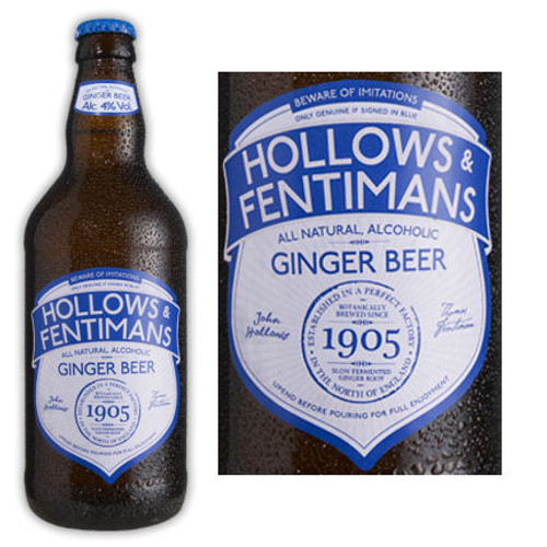 Hollows & Fentimans All Natural Alcoholic Ginger Beer (England) 500ML