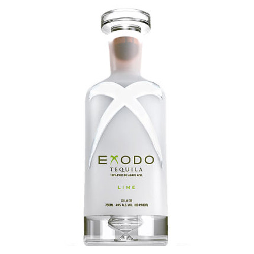 Exodo Lime Flavored Silver Tequila 750ml