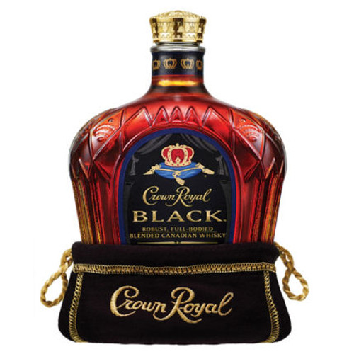 Crown Royal Black Canadian Whisky 750ml