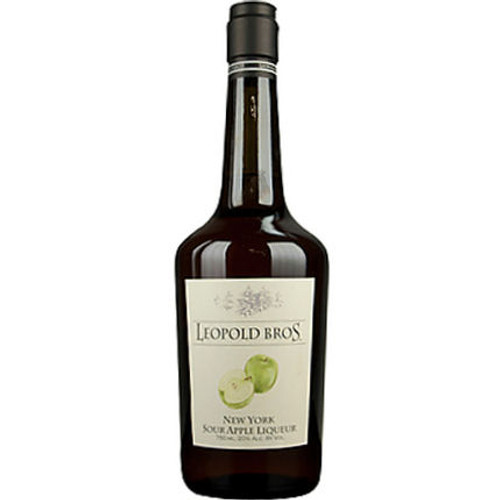 Leopold Bros. New Your Sour Apple Liqueur 750ml