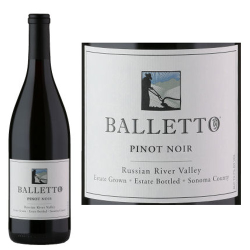 Balletto Russian River Pinot Noir