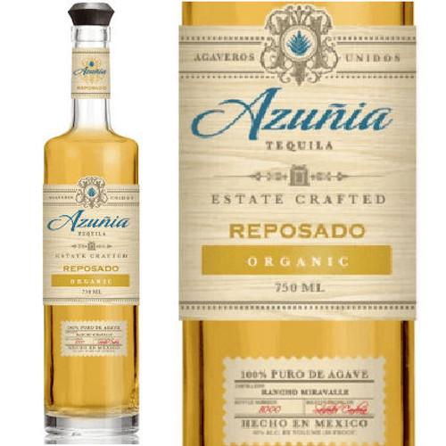 Azunia Reposado Organic Tequila 750ml