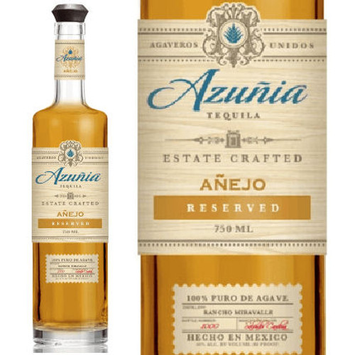 Azunia Anejo Reserved Tequila 750ml