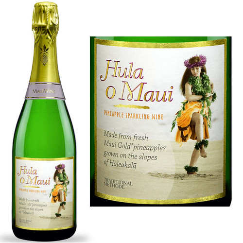 Maui Wine Hula O Maui Brut Sparkling Wine NV (Hawaii)