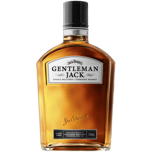 Jack Daniel's Gentleman Jack Double Mellowed Tennessee Whiskey 750ML