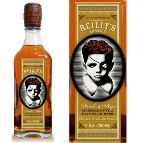 Reilly's Ginger Rock and Rye Whiskey 750ml