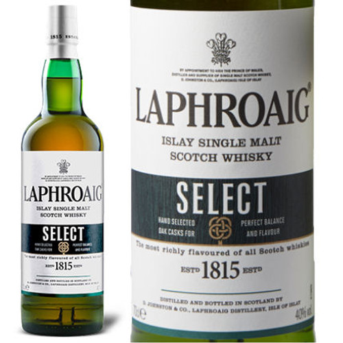 Laphroaig Select Islay Single Malt Scotch 750ml