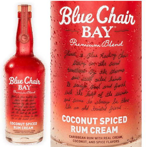 Kenny Chesney Blue Chair Bay Coconut Spiced Rum Cream 750ml