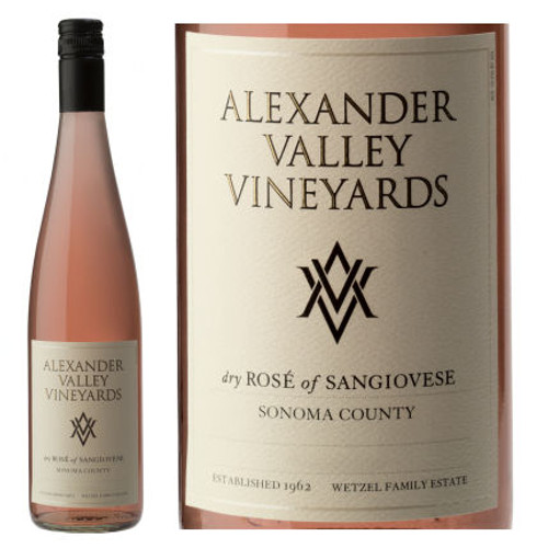 Alexander Valley Vineyards Sonoma Rose of Sangiovese