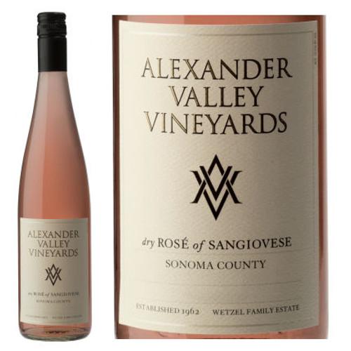 Alexander Valley Vineyards Sonoma Rose of Sangiovese