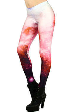 Left Side Image of DP-KDK1009 - Wholesale Premium Graphic Leggings