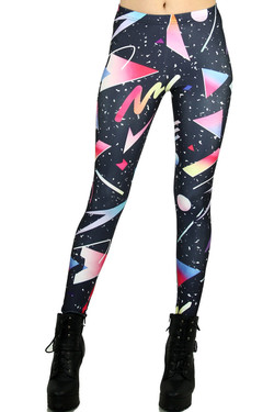 Wholesale Graphic Confetti Leggings