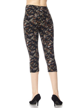 Wholesale Buttery Soft Lavish Paisley Capris