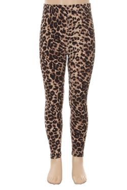 Wholesale Buttery Soft Cheetah Kids Leggings