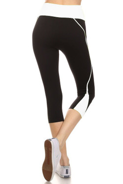Wholesale Women's Flex Workout Capris